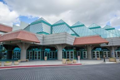 Santa Clara Convention Center outside view